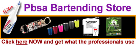 PBSA Bar Supplies Store - Shop securely online!